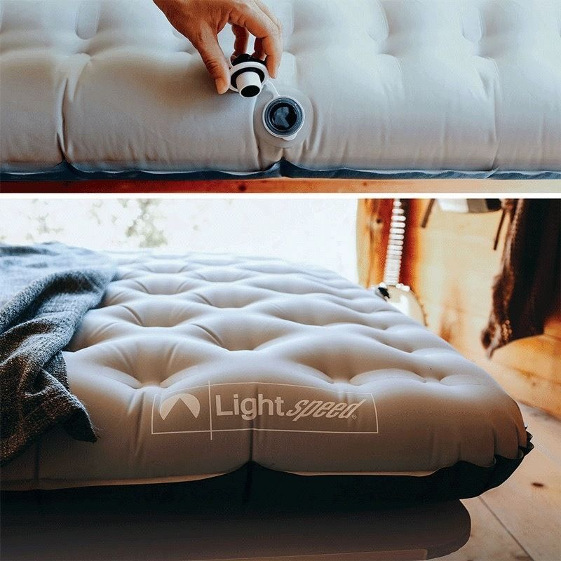 Lightspeed Tpu Double Air Bed